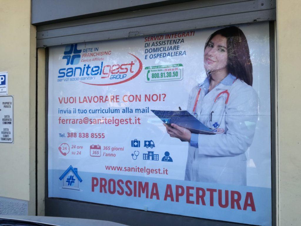 Sanitelgest a Ferrara